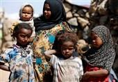 چند نفر از مردم یمن با گرسنگی شدید روبرو هستند؟