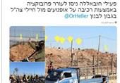 رژه موتورسواران حزب الله و قیافه دیدنی نظامیان صهیونیست+تصاویر