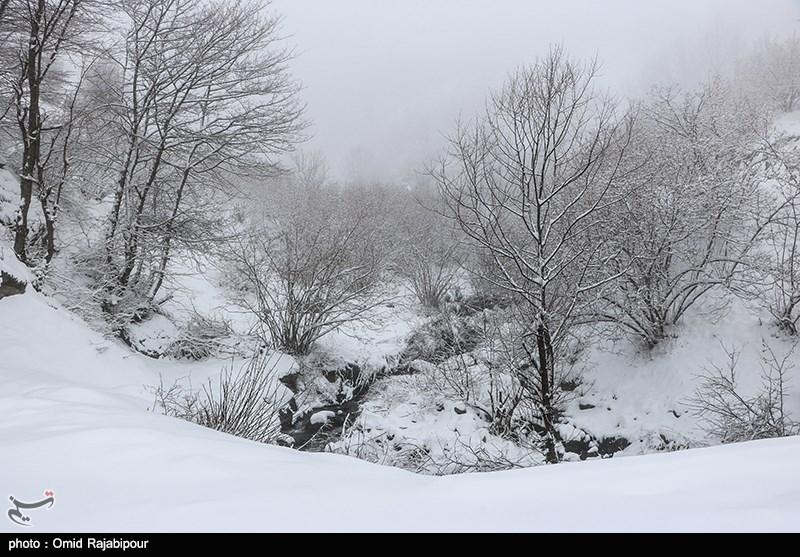 تساقط الثلوج فی کیلان