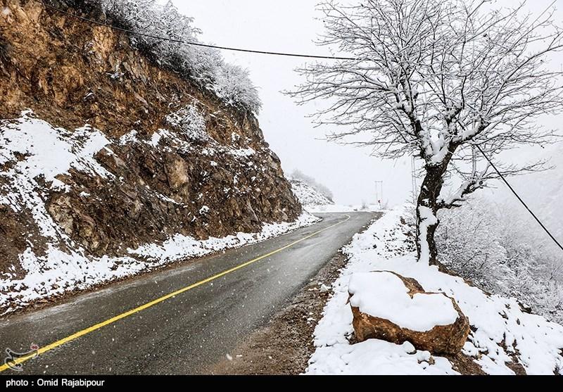 برف و باران ۲ روزه در ۲۰ استان,