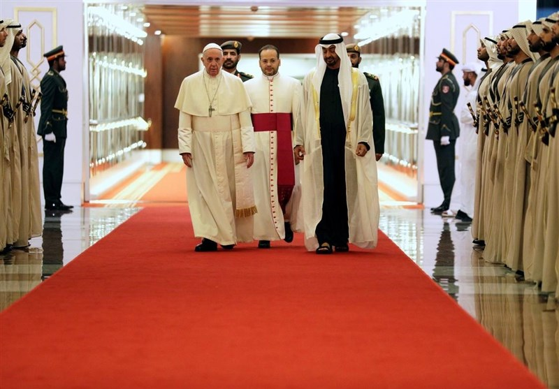 هل یمکن لزیارة البابا التغطیة على جرائم النظام الاماراتی؟
