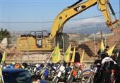 طرفداران حزب الله - مرز لبنان