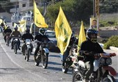 Pro-Hezbollah Motorcyclists Protest Violations of Sovereignty by Israel at Border (+Video, Photos)