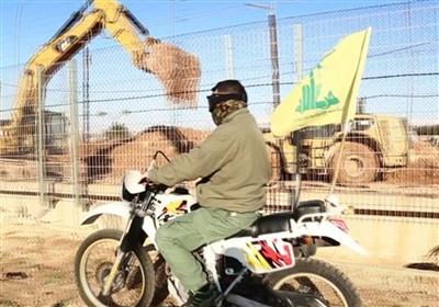 الدراجات الناریة لحزب الله على طول الحدود مع فلسطین المحتلة