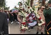 تشییع پیکر شهید حادثه تروریستی نیکشهر در زاهدان به روایت تصویر