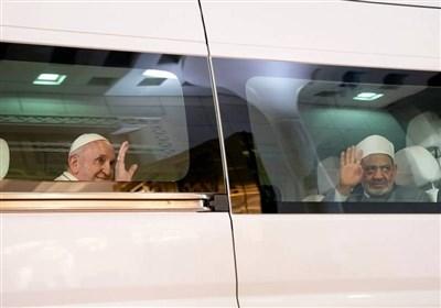 Papa Ve Ezher Şeyhi, İnsan Kardeşliği Konferansı'nda Bir Araya Geldi