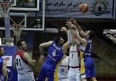 بسکتبال باشگاههای غرب آسیا| برتری نزدیک شیمیدر مقابل پتروشیمی