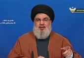 نصرالله: مشکل آمریکا با ایران و حزبالله به خاطر ایستادن آنها در برابر«معامله قرن» است/مقاومت تنها گزینه برای بازپسگیری مناطق اشغالی