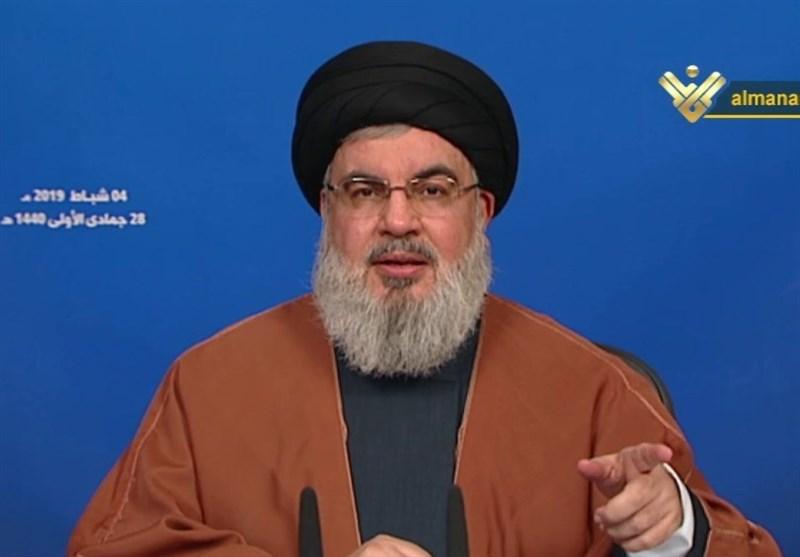 السیدنصرالله: الثورة الاسلامیة غیرت مجرى التاریخ والمنطقة