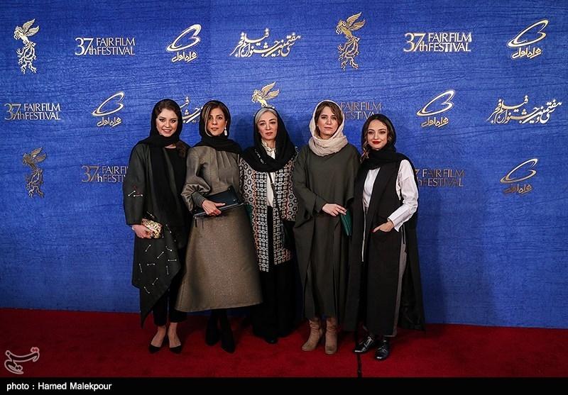 بازیگران فیلم جمشیدیه در سیوهفتمین جشنواره فیلم فجر