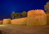 Moud Castle Garden near Birjand, East of Iran