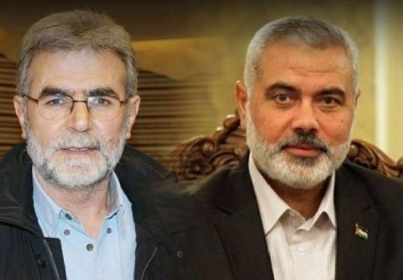 گفتگوی تلفنی هنیه و دبیرکل جهاد اسلامی / تاکید برای مقابله با توافق عادی سازی