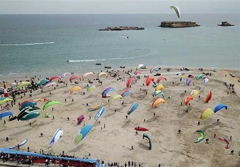 دومین جشنواره جهانی ورزش های هوایی در سواحل خلیج فارس برگزار میشود