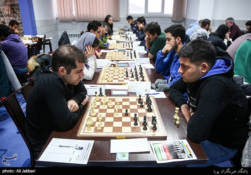 دور ششم شطرنج بینالمللی جام فجر| صدر جدول به احسان قائممقامی رسید