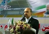 تالار مسابقات یادگار امام(ره) در خمین با حضور وزیر ورزش افتتاح شد
