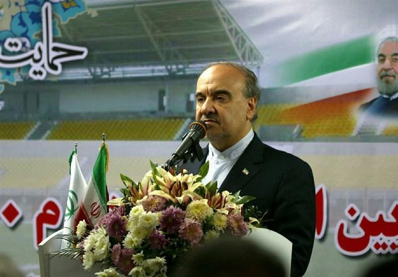 وزیر ورزش در گچساران: 700 پروژه ورزشی در کشور به بهره برداری میرسد