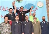 قهرمانی رعد پدافند هوایی در مسابقات قویترین مردان ارتش