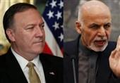 افغانستان|گفتگوی تلفنی پامپئو و اشرف غنی درباره روند صلح با طالبان