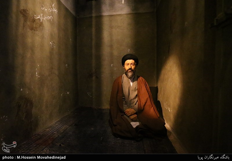 سلول شهید آیت الله بهشتی در موزه عبرت