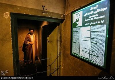 سلول آیتالله سیدعلی خامنهای رهبر معظم انقلاب در موزه عبرت