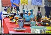 خوزستان| نمایشگاه گروهی خوشنویسی، هنرهای تجسمی و صنایع دستی در بندر ماهشهر+تصاویر