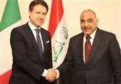 عراق: دیدار حلبوسی با همتای اردنی/ درخواست اقتصادی عبدالمهدی از ایتالیا
