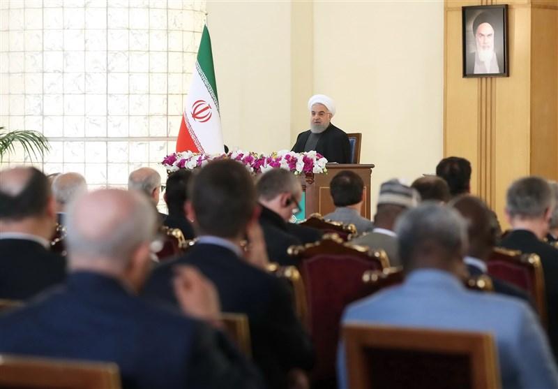 روحانی: حاضریم توبه آمریکا را بپذیریم