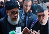 کرزی: در صورت عدم حضور دولت افغانستان نیز روند صلح با طالبان نباید متوقف شود