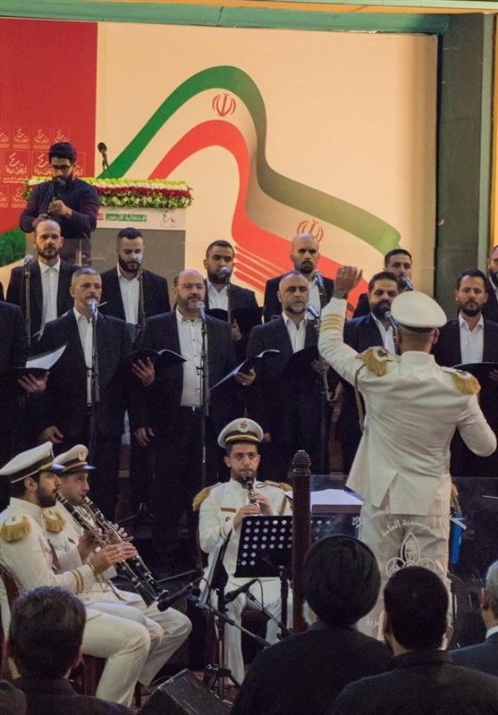 """اجرای سرود""""خمینی ای امام"""" در لبنان +فیلم"""