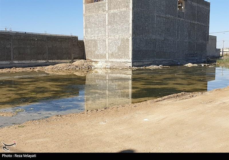 خوزستان|پیگیری مسئولان برای رفع اصولی پساب آبرسانی بندرامامخمینی(ره), بدون نتیجه ادامه دارد+ تصویر
