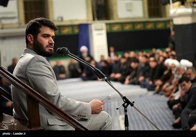 مداحی میثم مطیعی در سومین شب عزاداری فاطمیه در حسینیه امام خمینی (ره)
