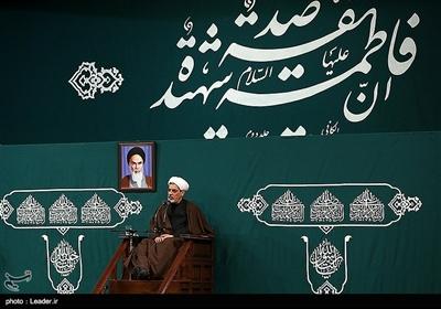 سخنرانی حجتالاسلام والمسلمین رفیعی در سومین شب عزاداری فاطمیه در حسینیه امام خمینی (ره)