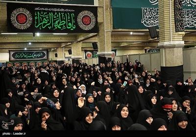 سومین شب عزاداری فاطمیه در حسینیه امام خمینی (ره)