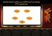 آرای مردمی جشنواره فیلم فجر به 5 فیلم رسید