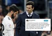 فوتبال جهان  افزایش احتمال جدایی ایسکو از رئال مادرید با انتشار پیامی معنادار