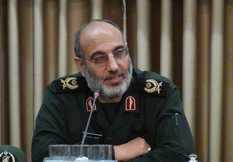 فرمانده سپاه کرمان: مردم ایران مشکلات اقتصادی جامعه را پای نظام نمیگذارند