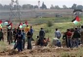 آغاز چهل و ششمین راهپیمایی جمعه بازگشت در مرزهای غزه