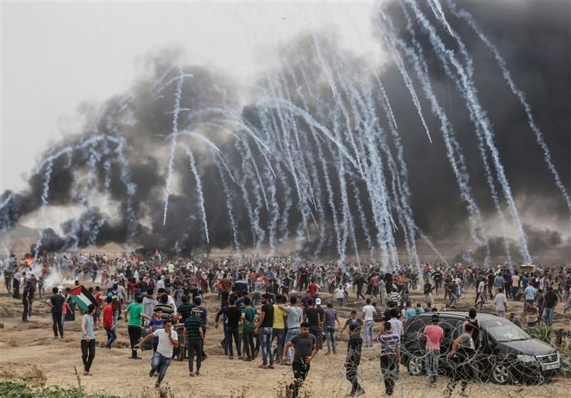 Siyonistlerden Gazze'ye Saldırı