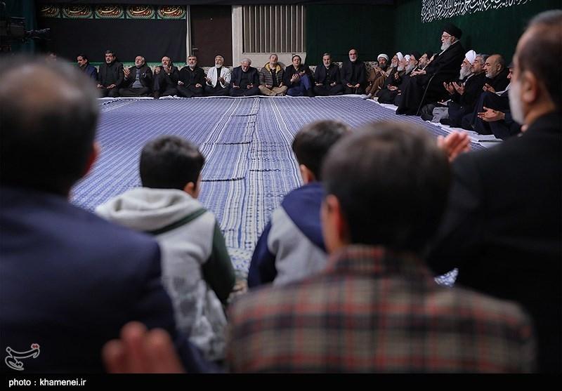 مراسم عزاداری شب شهادت حضرت زهرا(س) در حسینیه امام خمینی(ره)