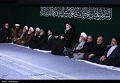 برگزاری مراسم عزاداری حضرت زهرا (س) در حسینیه امامخمینی + تصاویر