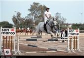 مسابقات تور پرش با اسب قهرمانی کشور در همدان آغاز شد