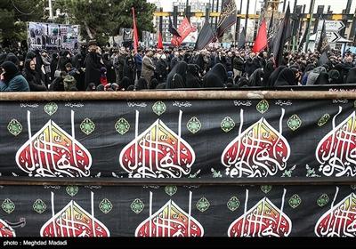 تجمع عزاداران فاطمی در میدان شهید طهرانیمقدم