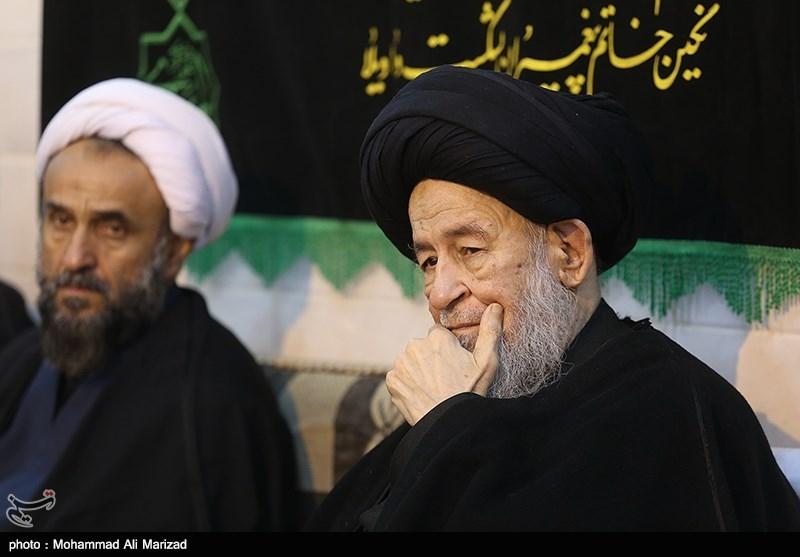 مراسم عزاداری اربعین حسینی در دفاتر مراجع عظام تقلید برگزار شد