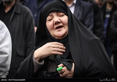 عزاداری شهادت حضرت زهرا(س) در میدان ابوذر