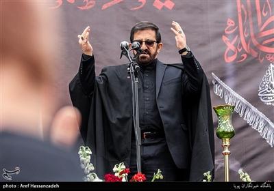 مداحی مرتضی طاهری در تجمع هیئت های مذهبی دارالشهدای تهران منطقه 17 به مناسبت شهادت حضرت زهرا(س)