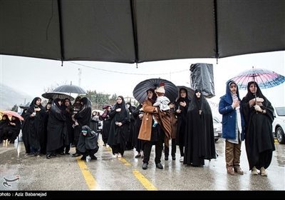 مراسم عزاداری شهادت حضرت زهرا(س) - خرم آباد