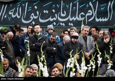 تجمع هیئت های عزاداری شهادت حضرت زهرا(س) در میدان فاطمی