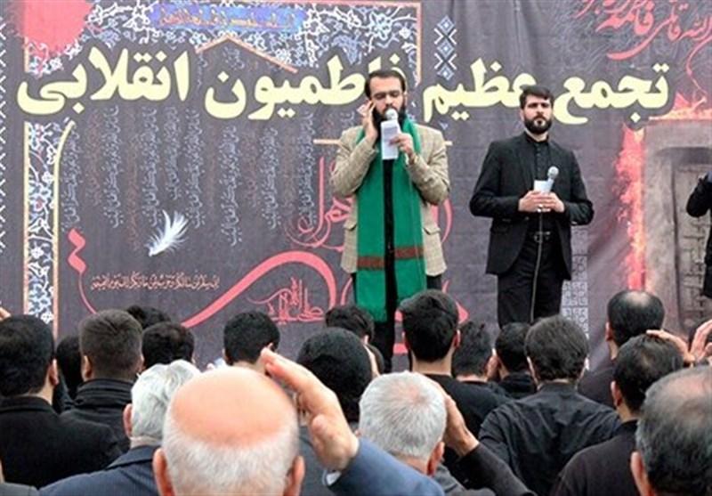 تجمع بزرگ فاطمیون بوشهر برگزار شد