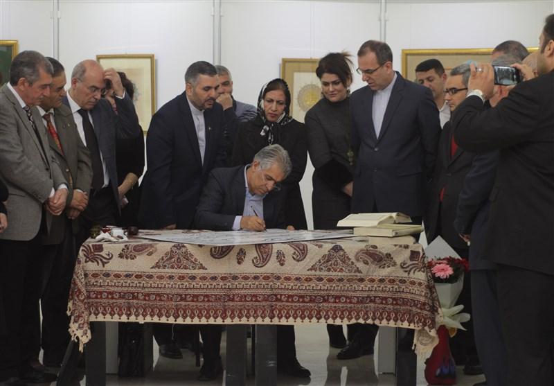 افتتاح نمایشگاه خوشنویسی 40 سالگی انقلاب اسلامی در نخجوان