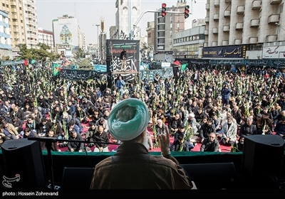تہران میں عزاداری حضرت زھرا (س)